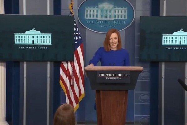 نخستین نشست خبری سخنگوی کاخ سفید در دولت بایدن برگزار گردید