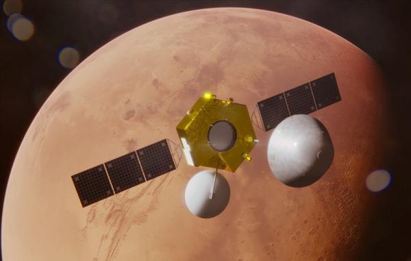 کاوشگر تیان ون-1 چین با موفقیت وارد مدار مریخ شد