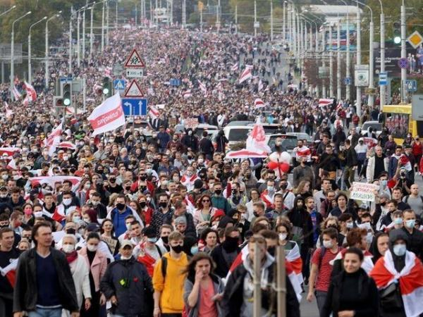 دستگیری بیش از 160 تن در جریان اعتراضات بلاروس
