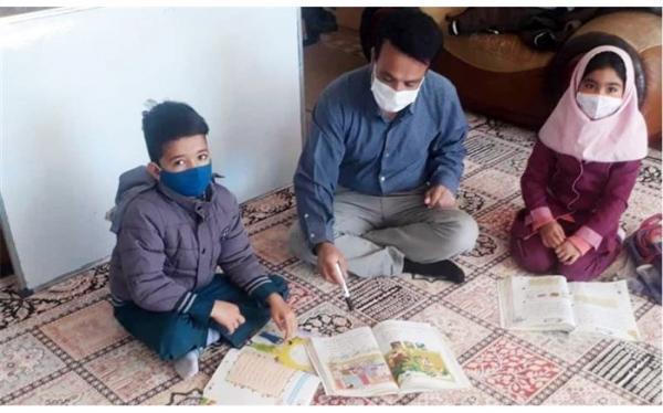 زوج فرهنگی خانه خود را به کلاس درس تبدیل کردند