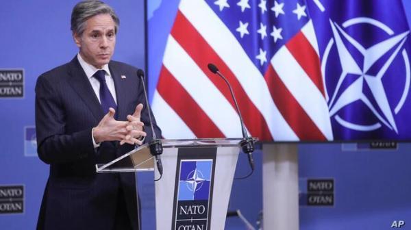 بلینکن: با تروئیکای اروپایی درباره ایران هم موضع هستیم، توپ در زمین ایران است
