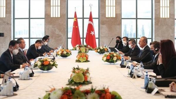 ملاقات وزرای امور خارجه ترکیه و چین در آنکارا