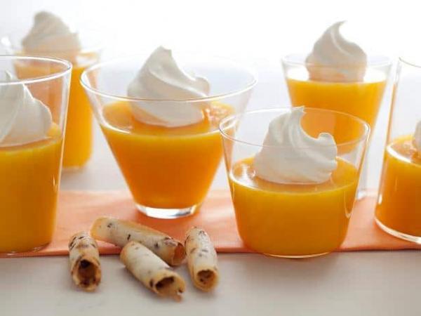 طرز تهیه ژله نارنگی ساده، ویترینی و مجلسی بسیار خوشمزه