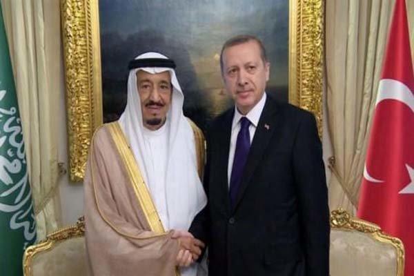 اردوغان و ملک سلمان تلفنی مصاحبه کردند