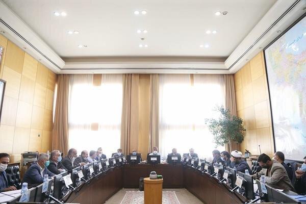 آنالیز آخرین اقدامات بعمل آمده درباره اسناد آمایش استانی در کمیسیون امور داخلی کشور