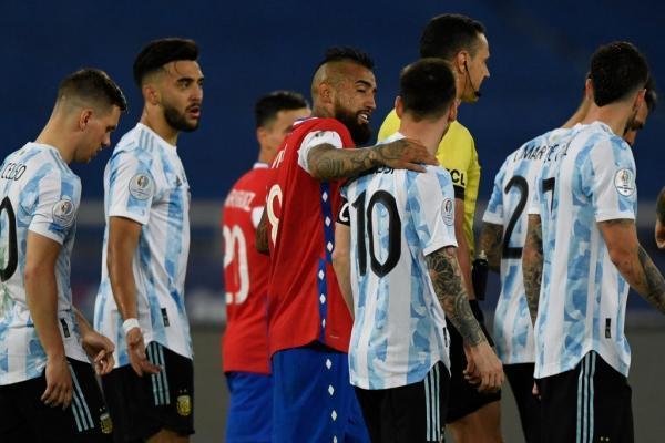 آرژانتین 1 - شیلی 1؛ سوپرگل مسی برای پیروزی کافی نبود