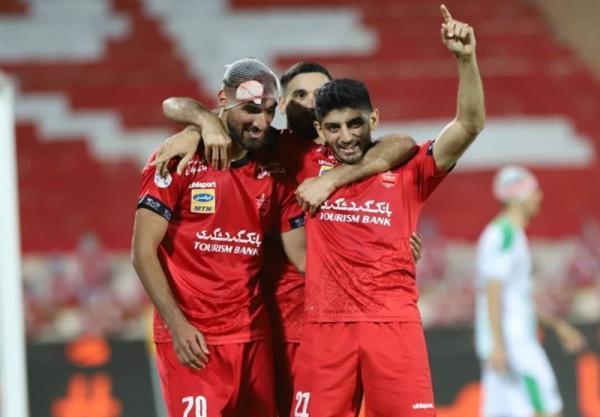 لیگ برتر فوتبال، پیروزی 2 گله پرسپولیس مقابل آلومینیوم در نیمه اول