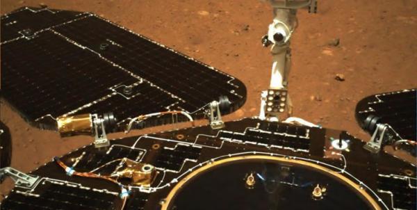 نخستین تصویر با کیفیت از محل فرود کاوشگر چین در مریخ منتشر شد