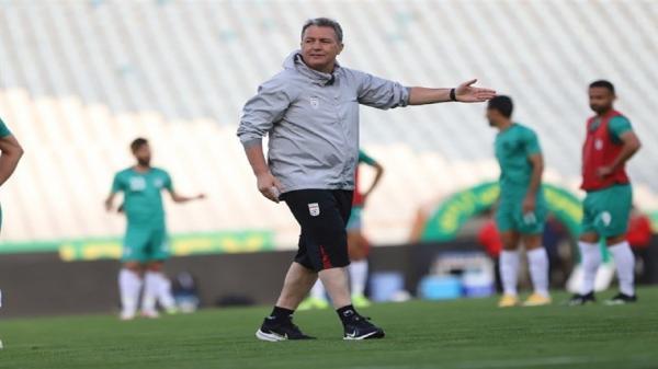 فهرست تیم ملی فوتبال دوشنبه اعلام می شود